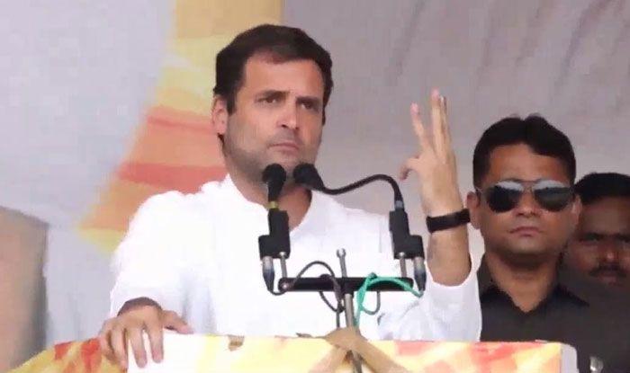 Congress chief Rahul Gandhi. Photo Courtesy: IANS