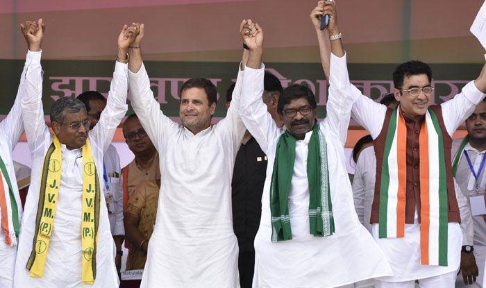 Congress president Rahul Gandhi in Jharkhand