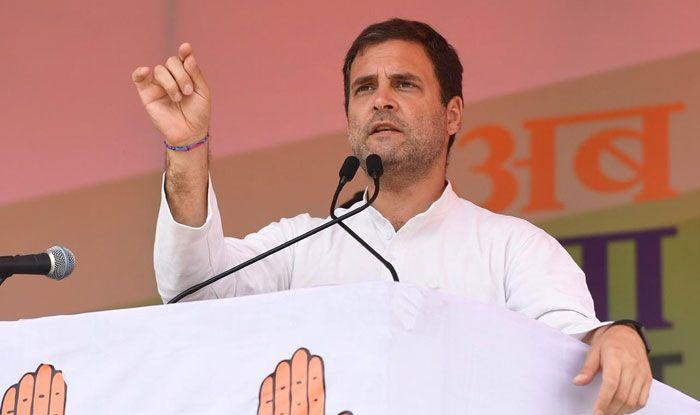 Congress chief Rahul Gandhi in Simdega