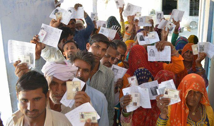Polling in Rajasthan