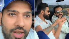 'Tell us About Your Special Appearance in Race 4': Rohit Takes Cheeky Jibe at Jadhav During Bus Ride to Cardiff | WATCH