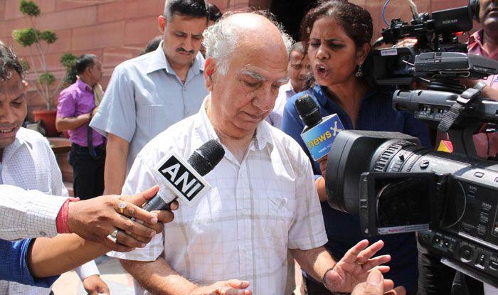 Veteran BJP leader Shanta Kumar