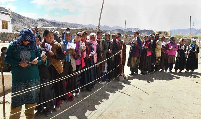 Polling in Leh