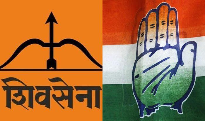 Shiv Sena and Congress symbols