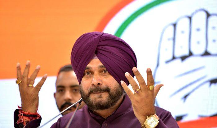 Congress leader Navjot Singh Sidhu
