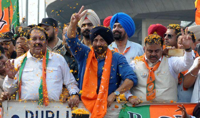 BJP-Akali Dal's Gurdaspur candidate Sunny Deol