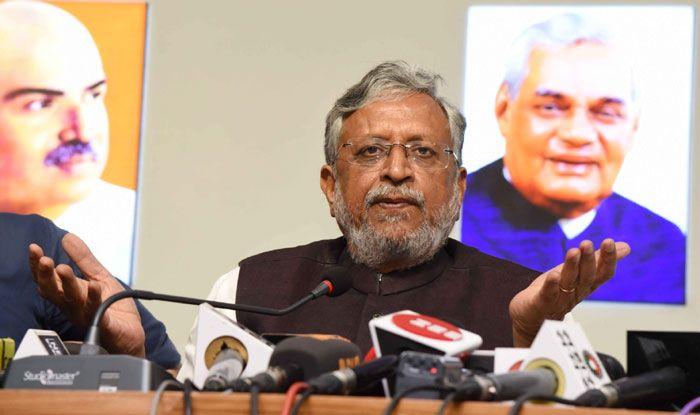 Senior BJP leader Sushil Kumar Modi