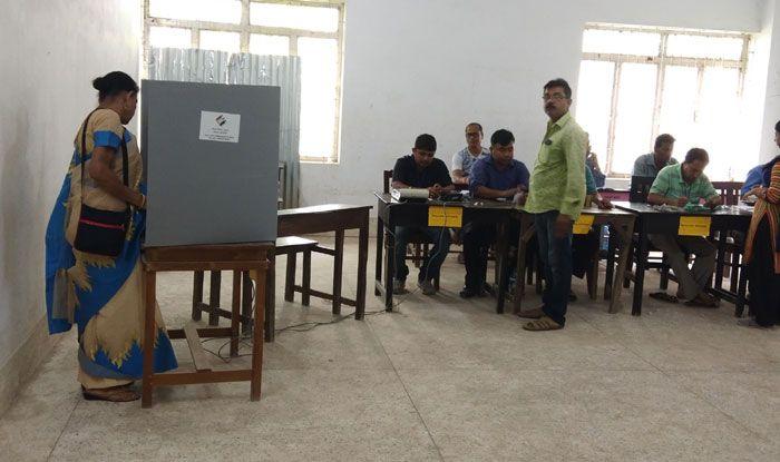 Polling in West Tripura