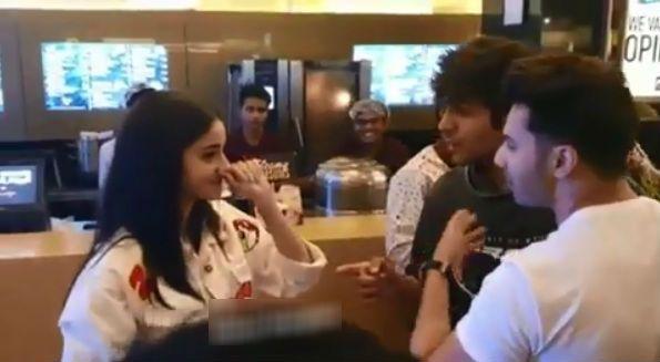 Kartik Aaryan Tries to Flirt With Ananya Panday But Varun Dhawan Drags Him Away – Watch Funny Video