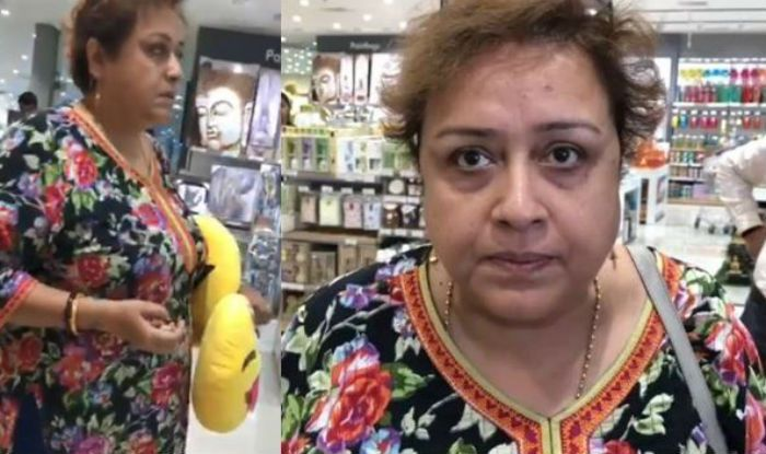 Viral Aunty Who Made Disgusting Rape Remark on Girls Wearing Short Dress Finally Apologises