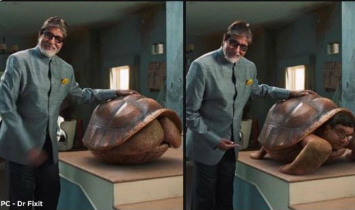 Mumbai Police Makes Hilarious Meme By Using Amitabh Bachchan's Advertisement Beside a Giant Tortoise, Check Out