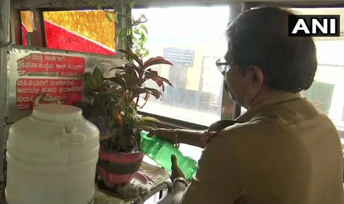 Bengaluru Driver Goes Green, Sets up Garden Inside The Bus And Wins the Internet