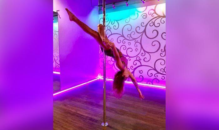 Aashka Goradia's  Sensuous Pole Dance Videos Goes Viral
