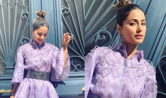 Hina Khan's Lavender Look From Cannes 2019 is About Letting Simplicity Shine With Stardom