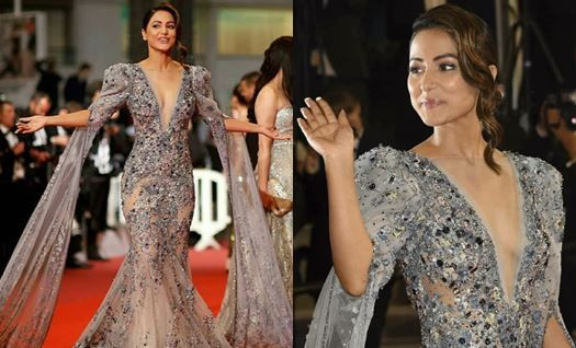 Hina Khan in Cannes 2019: Netizens Are Blown Away by Kasautii Zindagii Kay's Komolika's Look