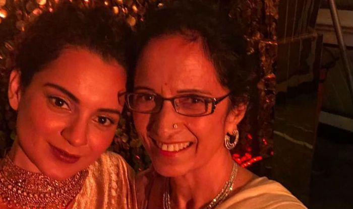 Kangana Ranaut's Mother Asha Ranaut Makes Heartfelt Statements About Her Hardworking Daughter on Mother's Day