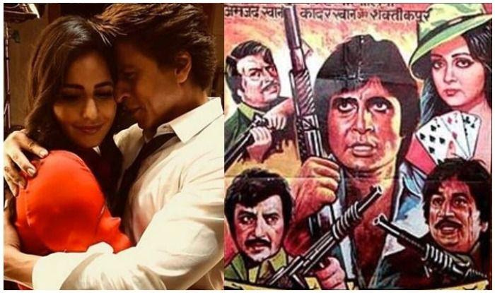 Shah Rukh Khan And Katrina Kaif to Come Together For The Remake of Amitabh Bachchan's 'Satte Pe Satta'