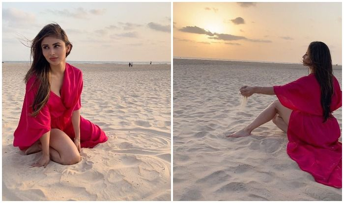Mouni Roy Looks Truly a Sand-And-Sun Baby as She Flaunts Sexy Long Legs on Beach, Viral Pictures Break Internet