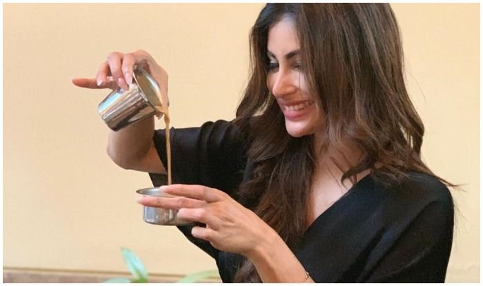 Mouni Roy Sizzles as She Teaches How to Drink Filter Coffee The Right Way And Fans Can't Help Taking Note!