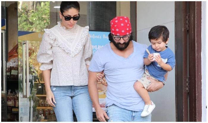 Taimur Ali Khan's Ice-Cream Date With Kareena Kapoor Khan-Saif Ali Khan is Family Goals!