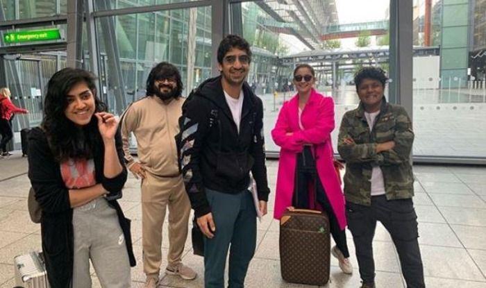 Team Brahmastra - Alia Bhatt, Ayan Mukerji