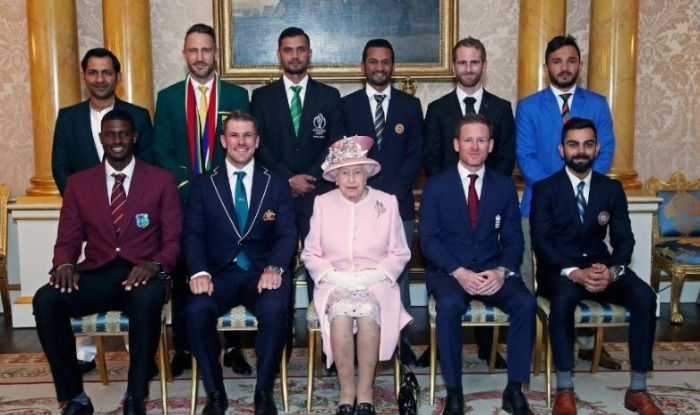Captains Meet The Queen Elizabeth Ahead Of The Opening Ceremony