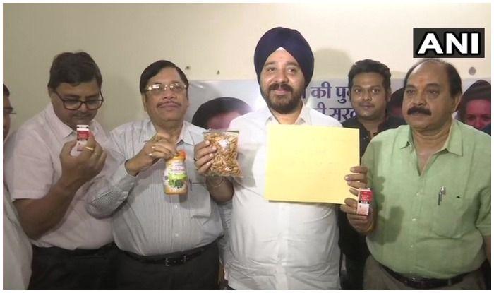 Congress Workers Send Eye Drops, Chyawanprash, Almonds to Shivraj Chouhan For 'Poor Eyesight, Dull Memory' Over Farm Loan Waiver