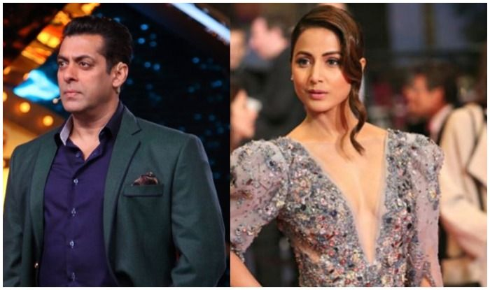 Salman Khan Defends Hina Khan on Film Magazine Editor's Chandivali Comment, See What he Says