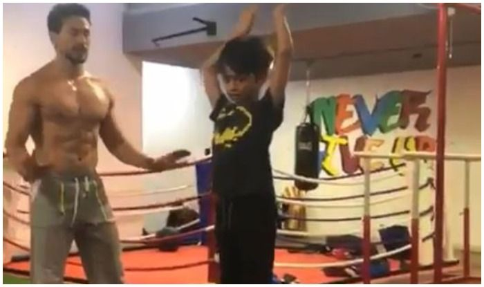 Shilpa Shetty Can't Stop Gushing as Son Viaan Does His 'First Back Flip' to Impress 'Guru' Tiger Shroff