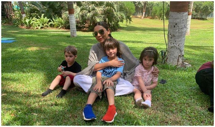 Gauri Khan's Sunday Looks Lit as She Spends Time With AbRam And Karan Johar's Twins Yash-Roohi
