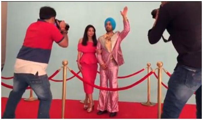 Diljit Dosanjh Creates 'Desi' Version of Met Gala Moment With Neeru Bajwa, Funny Video Goes Viral