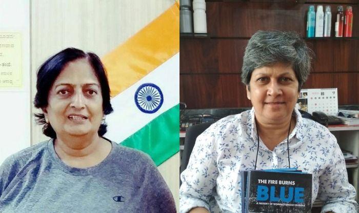 Shantha Rangaswamy and Shubhangi Kulkarni