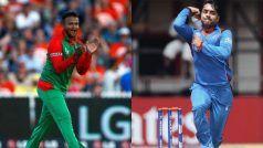 Shakib Al Hasan Replaces Rashid Khan as No. 1 All-Rounder in ODIs