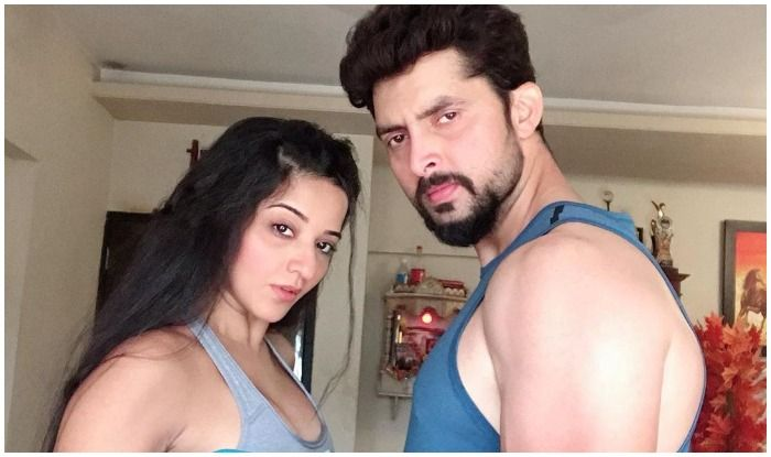 Monalisa-Vikrant Singh Rajpoot Redefine Couple Goals as They Workout Together, Viral Picture Breaks Internet