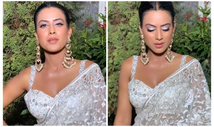 Mother's Day: Nia Sharma Slaying in Sheer-White 'Mom's Saree' Sets Temperatures Soaring Across Internet