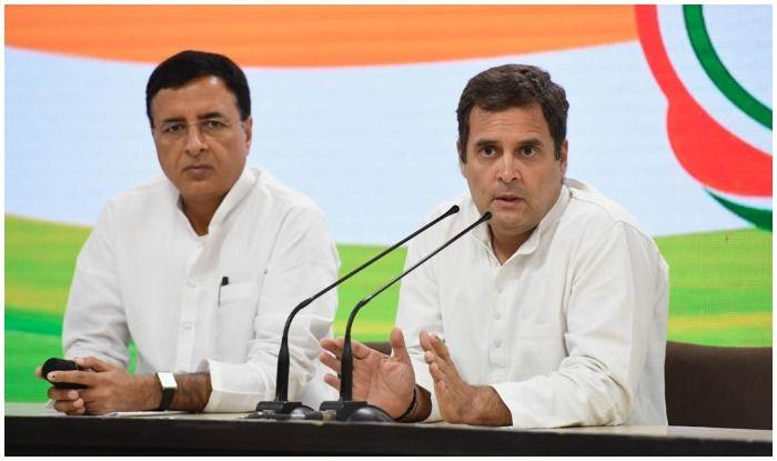 Image result for rahul gandhi press conference