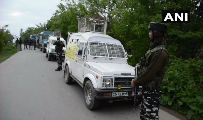 Jammu And Kashmir: Two Terrorists Killed in Encounter With Security Forces in Shopian's Hind Sita Pora