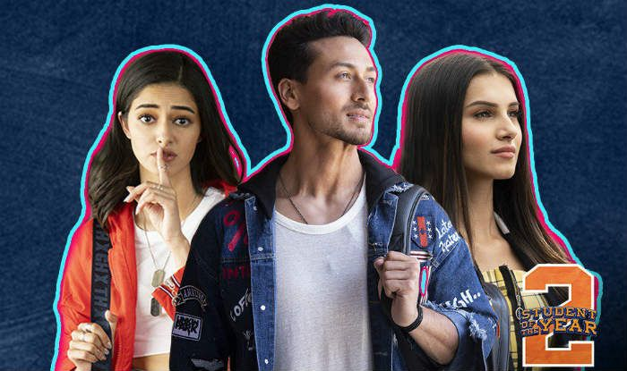 Tiger shroff, Ananya Panday and Tara Sutaria on a poster of Student Of The Year 2 (Photo Courtesy: Dharma Productions)