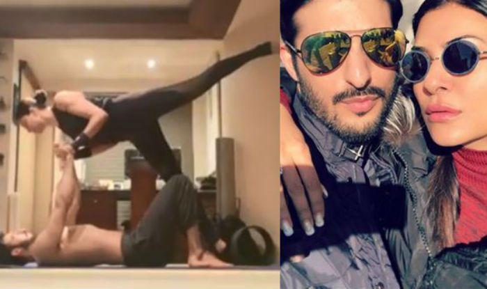 Sushmita Sen And Boyfriend Rohman Shawl Give Couple Goals as They Workout Together. Watch Adorable Video