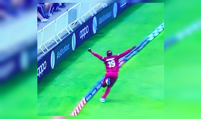 Sheldon Cottrell,Sheldon Cottrell Catch,Steve Smith, ICC Cricket World Cup 2019, ICCWorld Cup 2019, Cricket News, Aus vs WI, WI vs Aus