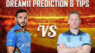 Dream11 Team Prediction England vs Afghanistan ICC Cricket World Cup 2019 – Cricket Prediction Tips For Today's World Cup Match ENG vs AFG at Emirates Old Trafford, Manchester