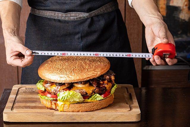 The Golden Giant Burger, The Oak Door Steakhouse
