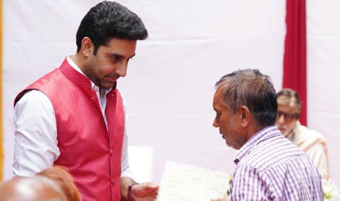 Abhishek Bachchan. Photo Courtesy: Amitabh Bachchan's Official Blog