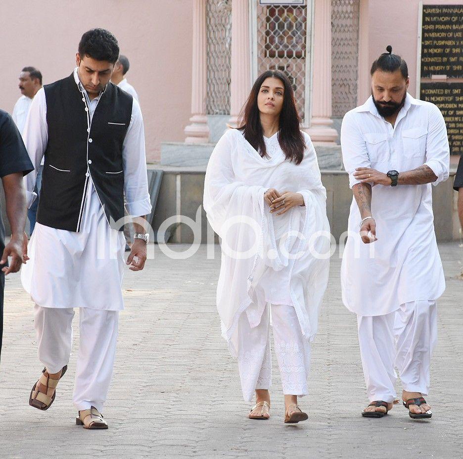 Amitabh Bachchan, Abhishek Bachchan, Aishwarya Rai Bachchan, Sheetal Jain
