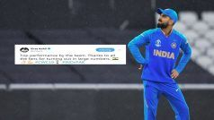 Virat Kohli's Tweet After India's Emphatic Victory Against Pakistan Is Winning Hearts | SEE POST