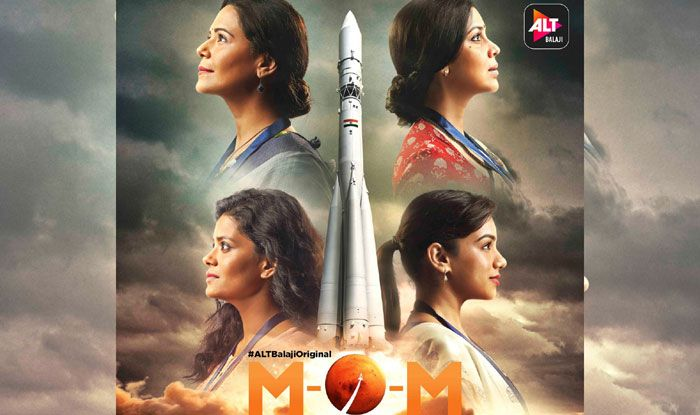 M.O.M. - Mission Over Mars poster. Photo Courtesy: IANS