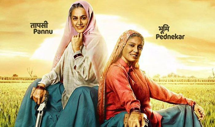 First look poster of Saand Ki Aankh. Photo Courtesy: IANS