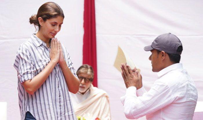 Shweta Bachchan Nanda. Photo Courtesy: Amitabh Bachchan's Official Blog