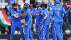 CWC'19: Indian Team to Take Two-Day Break After Pakistan Win
