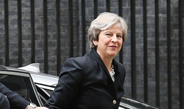 UK Prime Minister Theresa May. Photo Courtesy: Getty Images